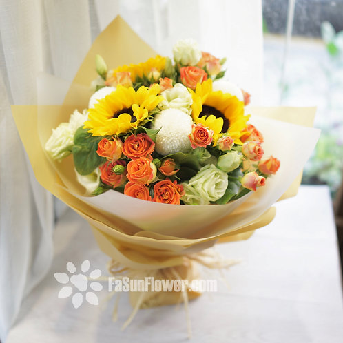 向日葵花束 Sunflower bouquet SF301