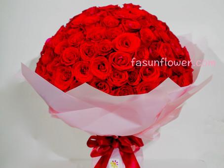 花店!求婚花束!求婚必備!! 99枝玫瑰花束低至 $1149!*