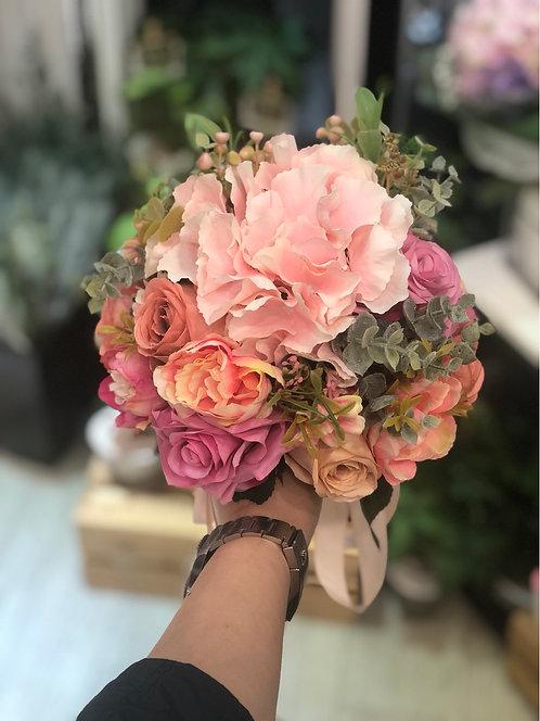 絲花花球 Silk flower bouquet 25