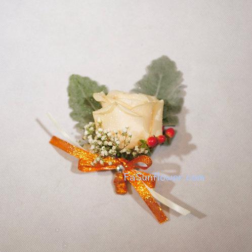 四個鮮花襟花套裝 Rose corsage x4 KF04