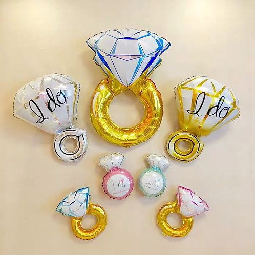 Diamond 戒指鋁膜氣球 Diamond Balloon DB1
