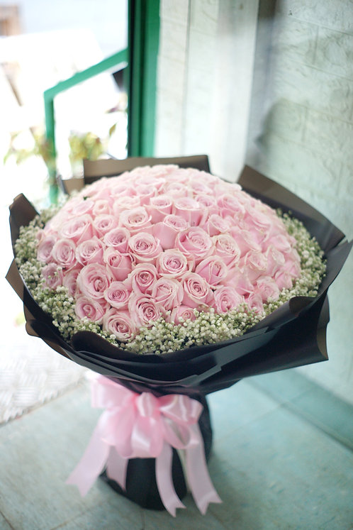 99/108 玫瑰花束 Roses Bouquet PP-BK99B