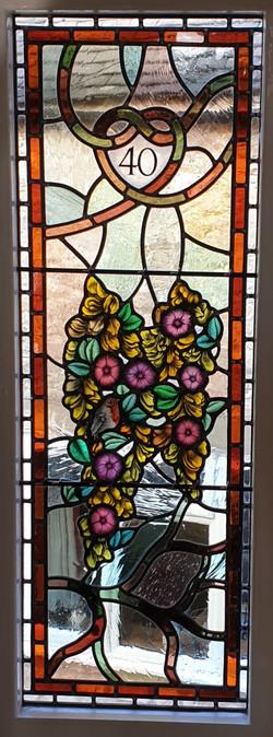 Laburnam Stained Glass Window