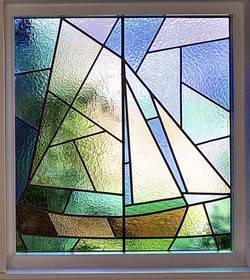 Obscured Stained Glass Window