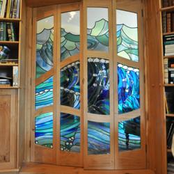 Stained Glass Door Panel