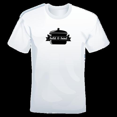held&herd T-Shirt (weiß)
