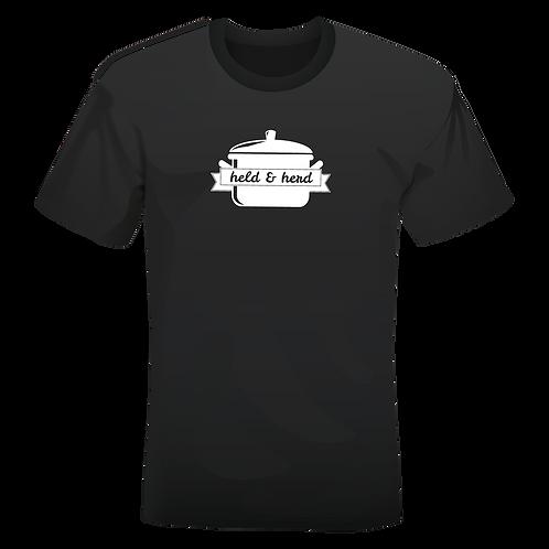 held&herd T-Shirt (schwarz)