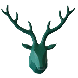 Deer Head Wall Art