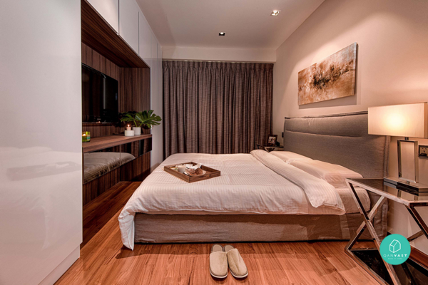 Renovation for HDB that looks like Hotel Suite in Singapore