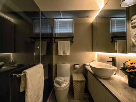 5 Stunning Bathroom You Wouldn't Believe it's HDB!