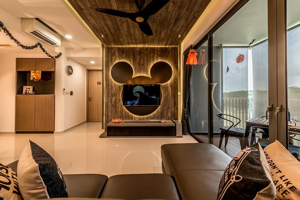 Mr Shopper Studio   Mickey Disney Theme Living Apartment