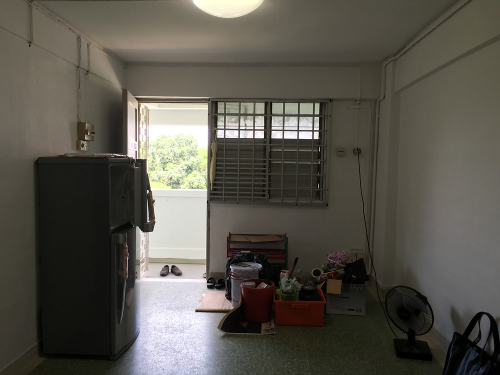 Old HDB - Before Renovation