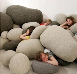 Pebble Cushions