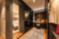 Punggol Woodcress, showflat living room renovated in Modern Contemporary, luxurious earthly neutral shades
