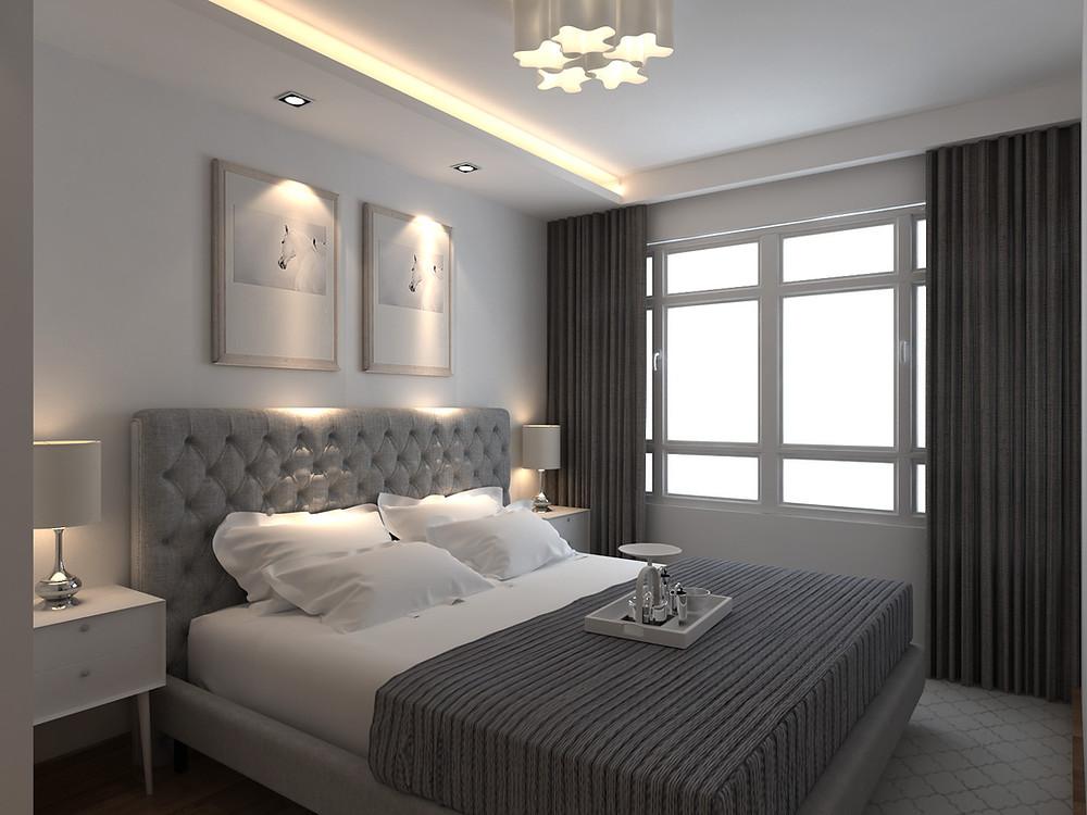 Mr Shopper Studio - Master Bedroom 1