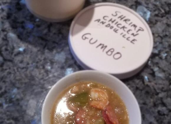 Shrimp and Chicken Andouille Gumbo