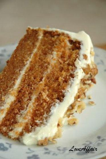 """9"""" Carrot Cake Torte"""