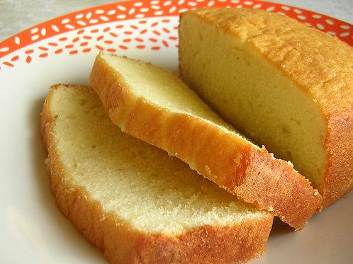 "French Vanilla Pound Cake 12"" Loaf or 10"" Bundt"