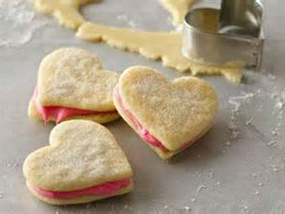 VALENTINE'S DAY Shortbread Cookies: baker's dozen