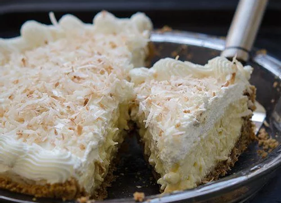 Deep Dish Coconut Cream