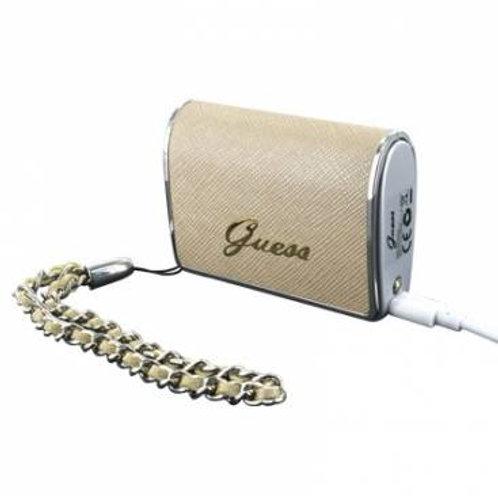 Batterie de secours beige avec lampe torche Guess