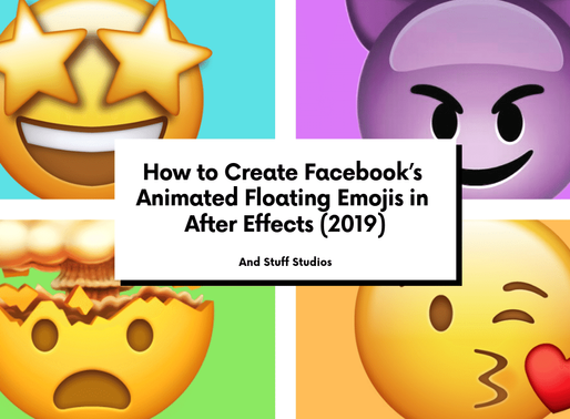 How to Create Facebook's Animated Floating Emojis in After Effects (2019)