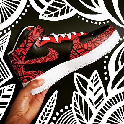 Sweet Afriq Sneaker Custom