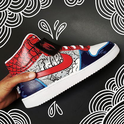 Classic Spiderman Sneaker Custom