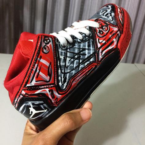 gigi rodgers puckn khaos sneaker custom