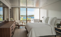 Nafsika Sea View 1 Bedroom Suite Bedroom