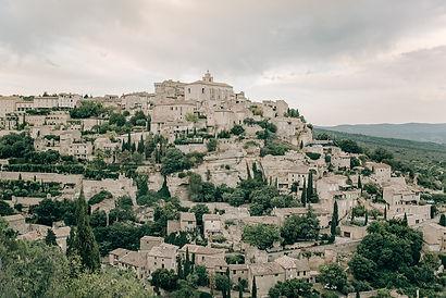 gordes landscape love and provence