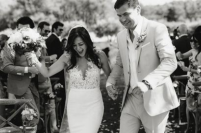 happy couple wedding ceremony boy called ben photography mas de la rose