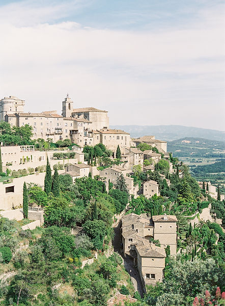 gordes destination wedding love and provence