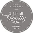 Style Me Pretty member 2020 badge