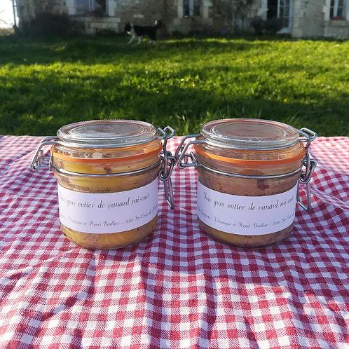 OFFRE 2 foies gras entier 190 grs  mi-cu