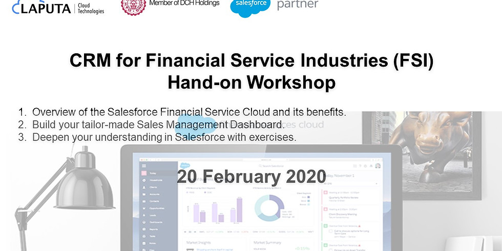 CRM for Financial Service & Insurance (FSI) Industries Hand-on Workshop