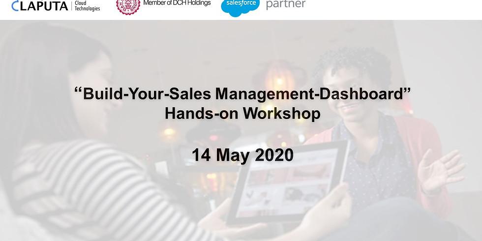 """Build-Your-Sales Management-Dashboard"" Webinar"