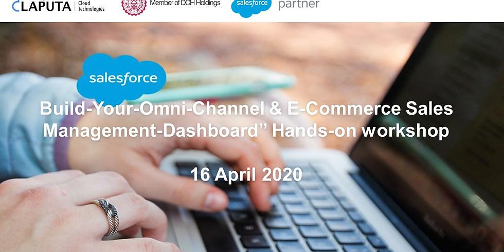 "Build-Your-Omni-Channel & E-Commerce Sales Management-Dashboard"" Hands-on workshop"