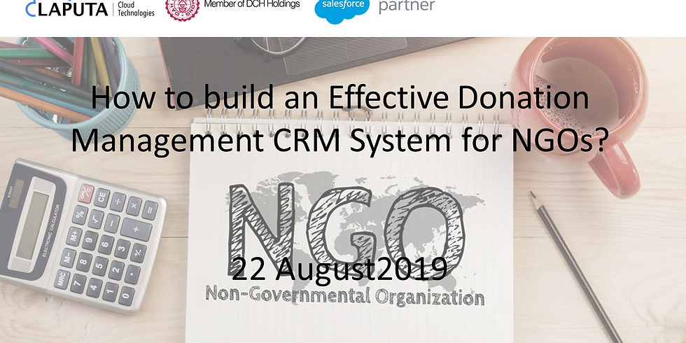 How to build an Effective Donation Management CRM System for NGOs?
