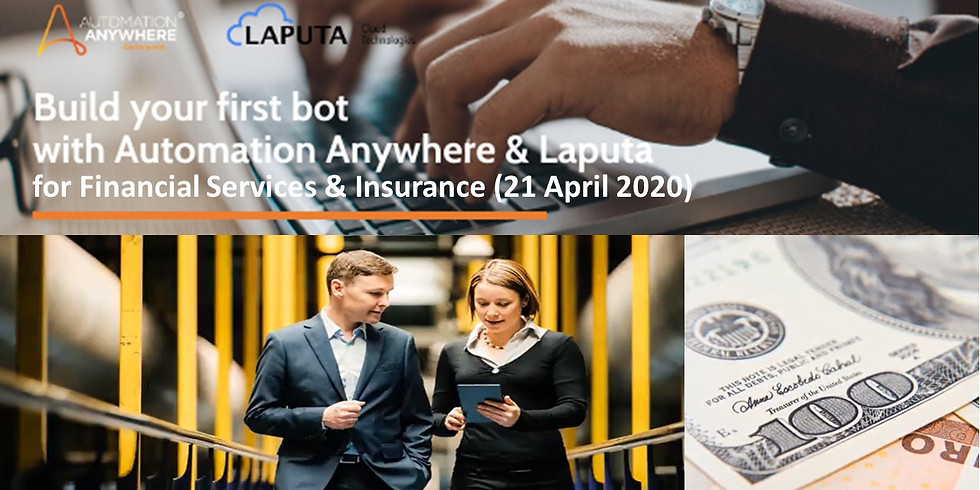 """""""Build-your-1st RPA-bot"""" Workshop for Insurance Industry"""