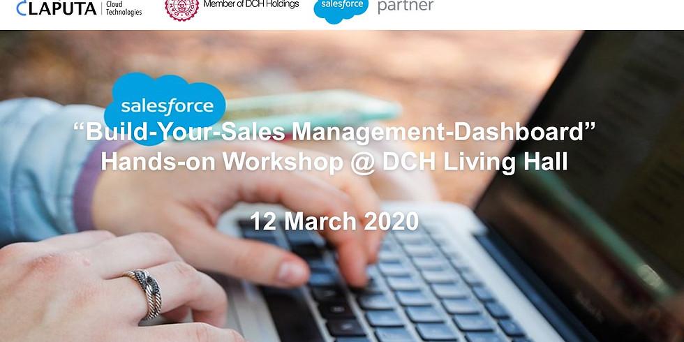 """""""Build-Your-Sales Management-Dashboard"""" Hands-on Workshop"""