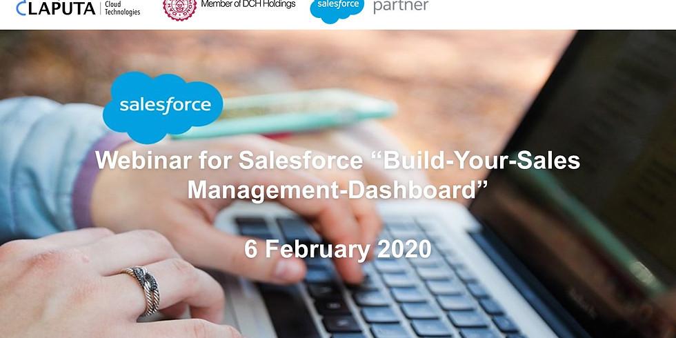 "Webinar for ""Build-Your-Sales Management-Dashboard"""