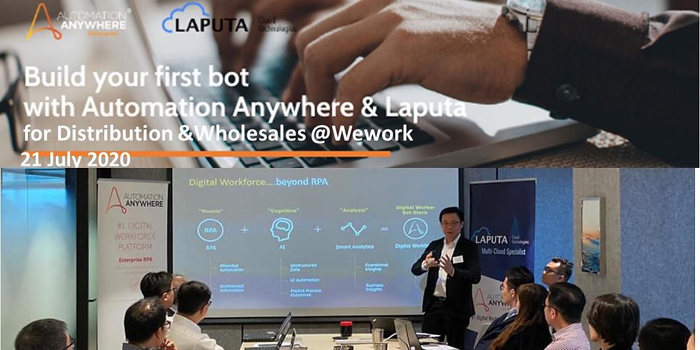 """Build-your-1st RPA-bot"" Workshop for Wholesales & Distribution"
