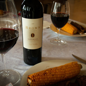 Pair your red meat with a delicious vintage from Brown.