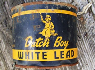 Lead paint was common before 1980.