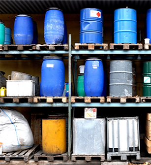 Stored Chemicals Stored Risk. Know, understand, and manage your risk.