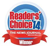 Readers' Choice Winner for 2014
