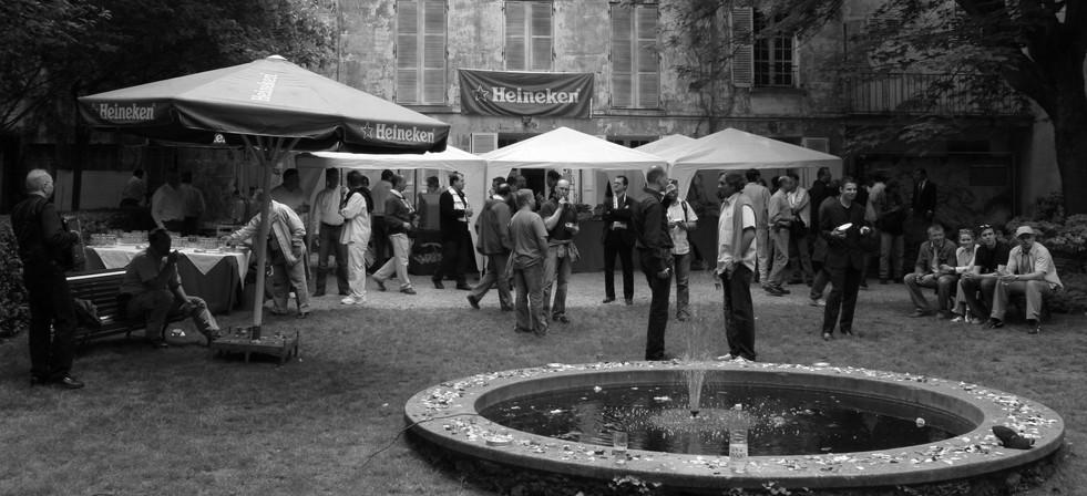 Garden Scence from Montmartre