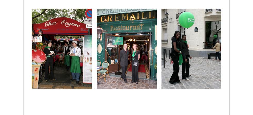 Monmartre privatized restaurants