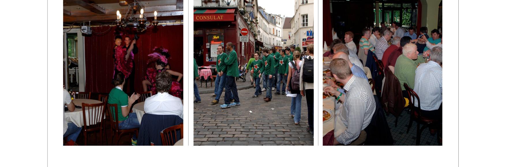 "Our Guests ""conquer"" Montmartre"